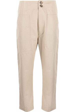 Isabel Marant High-waisted cropped trousers