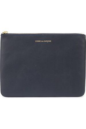 Comme Des Garçons Wallet Logo-print zip wallet