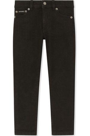Dolce & Gabbana Logo-patch slim jeans