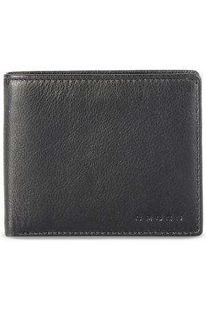 Cross Men Black Solid Two Fold Leather Wallet