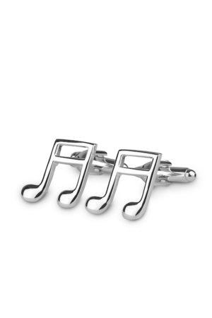 PELUCHE Men Silver-Toned Cufflinks