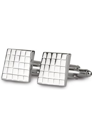 PELUCHE Silver-Toned Cufflink