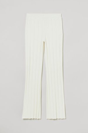 H & M Rib-knit trousers