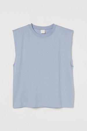H & M Women Tank Tops - Sleeveless T-shirt