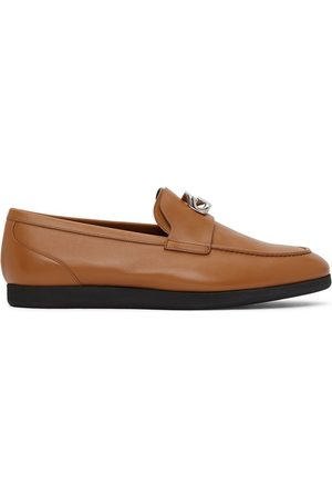 Givenchy Tan G Chain Loafers