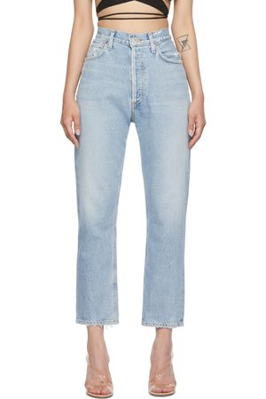 Citizens of Humanity Blue High-Rise Charlotte Jeans