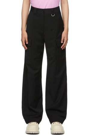 MSGM Loose-Fit Cargo Trousers