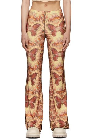 OMIGHTY SSENSE Exclusive Orange & Brown Butterfly Trousers