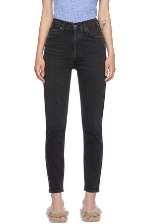 AGOLDE Black Nico Jeans