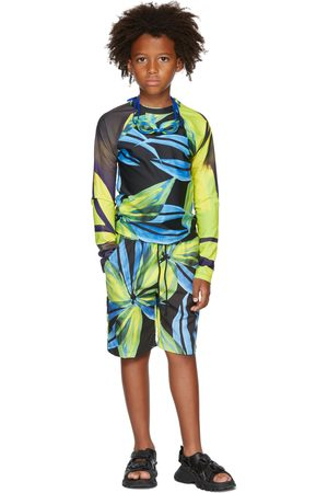 Louisa Ballou SSENSE Exclusive Kids Multicolor Contrast Sleeve Top