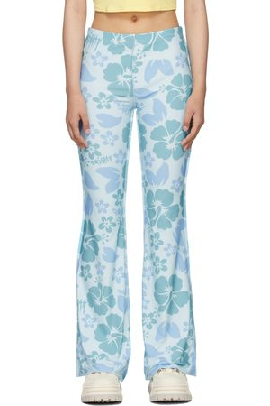 OMIGHTY SSENSE Exclusive Floral Hibiscus Trousers