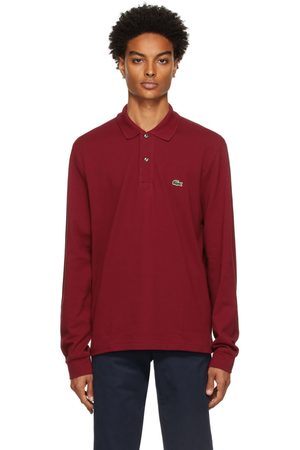 Lacoste Red Classic Piqué Long Sleeve Polo