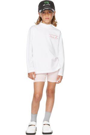 Martine Rose SSENSE Exclusive Kids Funnel Neck Long Sleeve T-Shirt