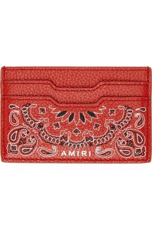 AMIRI Bandana Card Holder