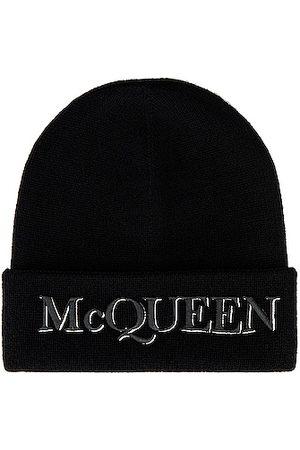 Alexander McQueen Beanie in & Ivory