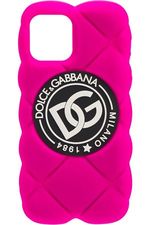 Dolce & Gabbana Dg Quilted Iphone 12 Pro Case