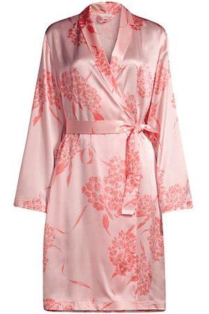 La Perla Hydrangea Silk Robe