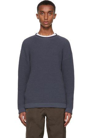 Giorgio Armani Cotton Rib Half Fisherman's Sweater