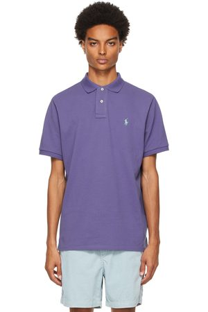 Polo Ralph Lauren Purple Classic Fit 'The Iconic' Polo