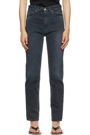 Totême Faded Regular Fit Jeans