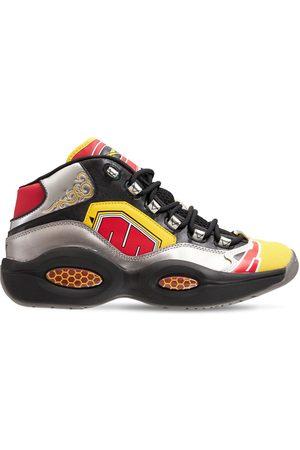 REEBOK CLASSICS Question Mid X Power Rangers Sneakers
