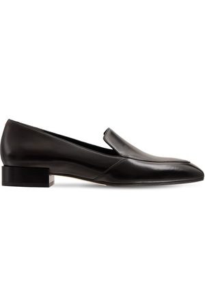 AEYDE 20mm Angi Leather Loafers