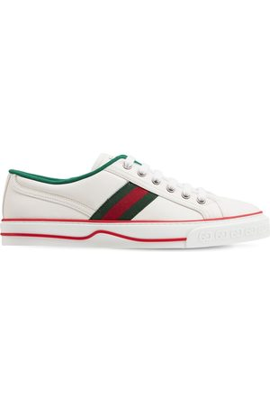 Gucci 15mm Tennis 1977 Leather Sneakers