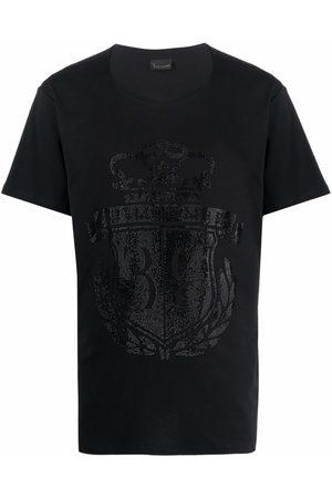 BILLIONAIRE Men Short Sleeve - Logo-print cotton T-Shirt