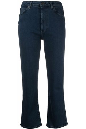 3x1 High-rise kickflare jeans