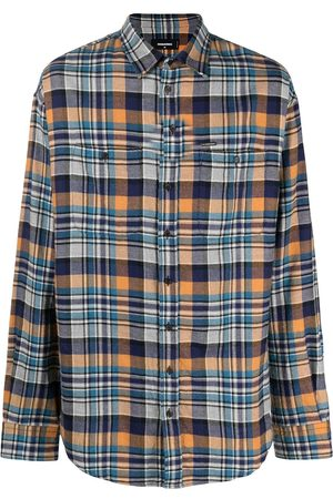 Dsquared2 Men Long Sleeve - Check print shirt