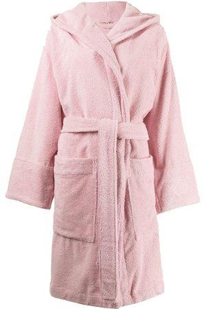 TEKLA Women Bathrobes - Organic cotton hooded bathrobe