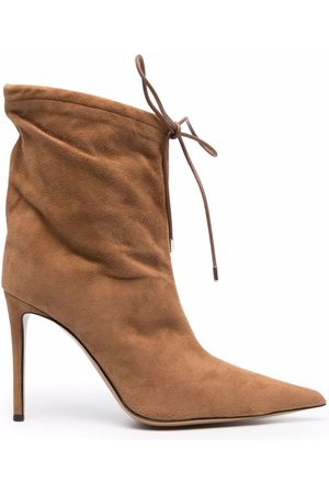 Alexandre Vauthier Women Lace-up Boots - Pointed lace-up boots