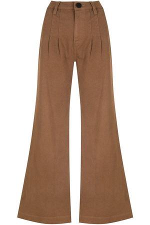 Andrea Bogosian Pockets flared trousers
