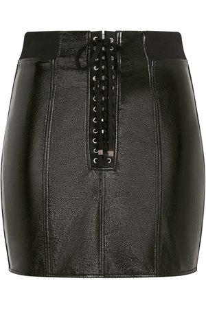 Dolce & Gabbana Lace-up mini skirt
