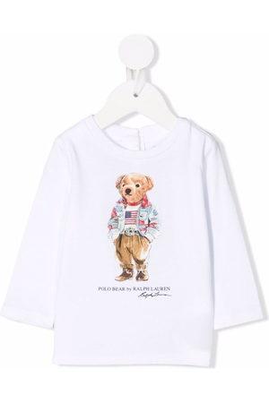 Ralph Lauren Kids Polo Bear print T-shirt