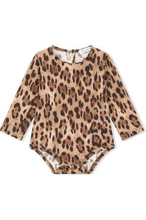 Dolce & Gabbana Kids Leopard-print cotton body