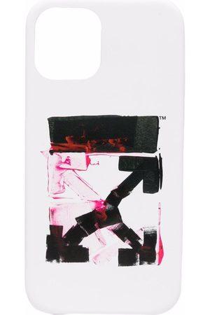 OFF-WHITE Arrows logo-print iPhone 12 case
