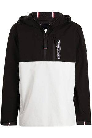 Tommy Hilfiger Two-tone pullover hooded jacket
