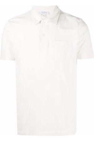 Sunspel Riviera patch-pocket polo shirt