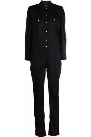 Isabel Marant Long-sleeved lyocell jumpsuit