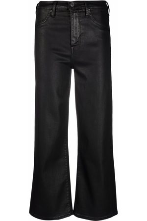 7 for all Mankind Women Wide Leg Trousers - Cropped flared trousers