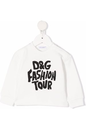 Dolce & Gabbana Sweatshirts - Fashion Tour-print crew neck sweatshirt