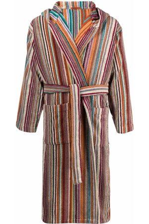 Missoni Bathrobes - Striped tie-fastening bath robe