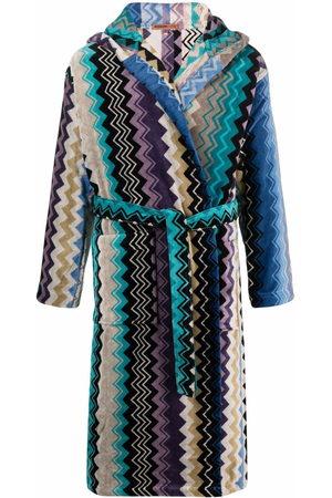 Missoni Zig-zag color-block robe