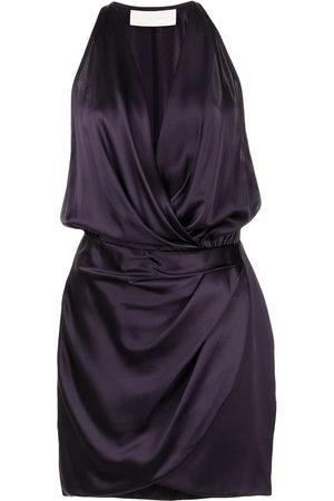 Michelle Mason Women Halterneck Dresses - Halter mini dress