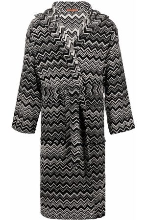 Missoni Bathrobes - Striped tie-fastening robe