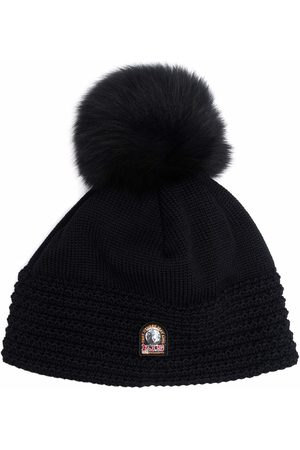 Parajumpers Beanies - Ivy logo-patch wool beanie