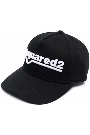 Dsquared2 Boys Hats - Logo-embroidered cap