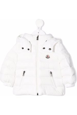 Moncler Jackets - Hooded zip-up padded jacket