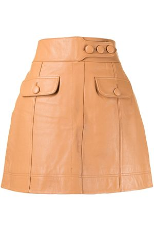 Alice McCall Women Leather Skirts - Low Rider leather skirt